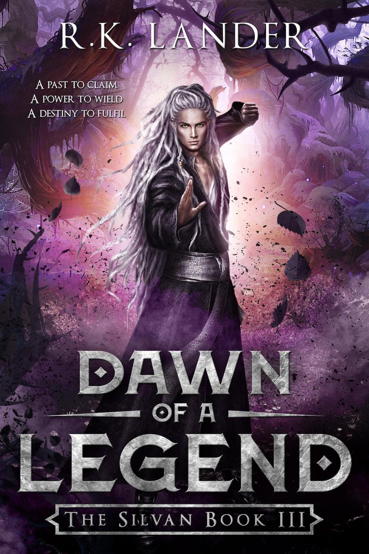 CoverReveal: Dawn of a Legend by R K  Lander #fantasy