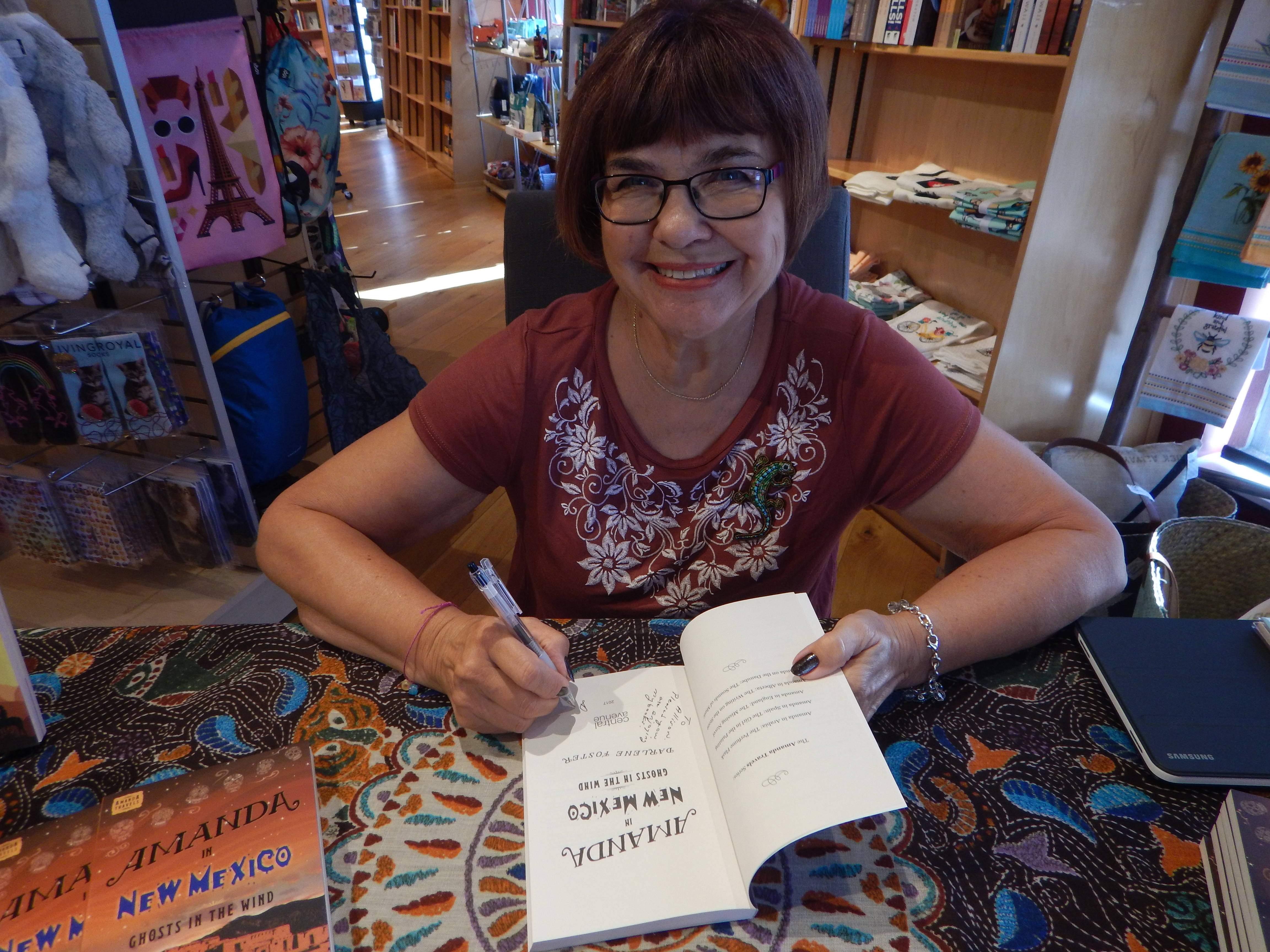#BadMoonRising: Amanda in New Mexico – Ghosts in the Wind #childrensbooks #ghosts